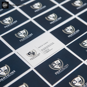 Write or Stamp on Business Cards