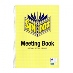 PRODUCT DETAIL NOTEBOOK SPIRAX 705 A4 MEETING 140PG PK5