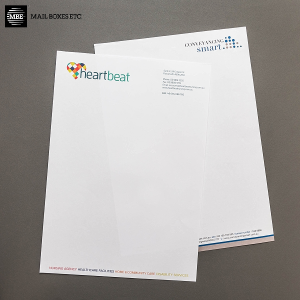 Recycled White Stationery