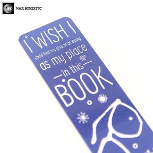 Regular Laminated Bookmarks