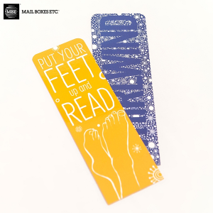 Uncoated Bookmarks