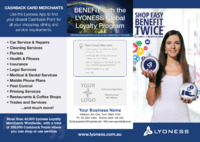Lyoness Merchant Brochure by Templatecloud