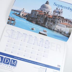 Compact Fourteen Month Calendar
