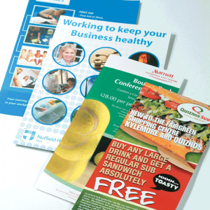 DIGITAL GLOSS LEAFLETS