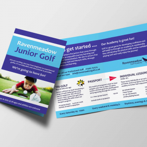 A5 Brochures (scored) - 4 Page Foldout