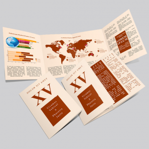 A5 Folded Brochures - 8 Page Foldout