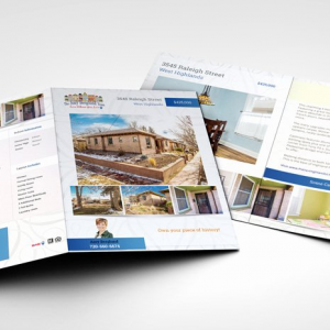 A4 Folded Brochures - 4 Page Foldout