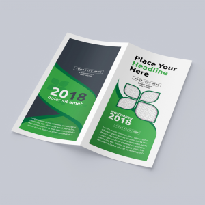 DL Folded Brochures - 4 Page Foldout