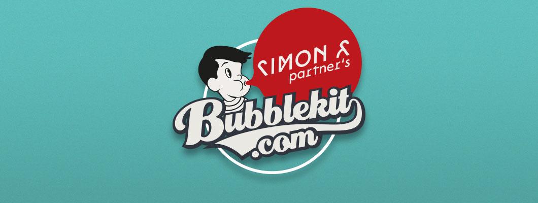 Bubblekit.com, une imprimerie en ligne par Simon & Partner's