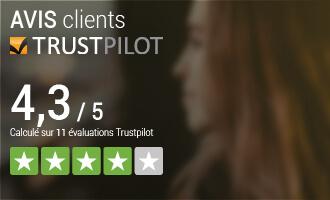 Avis client sur Trustpilot