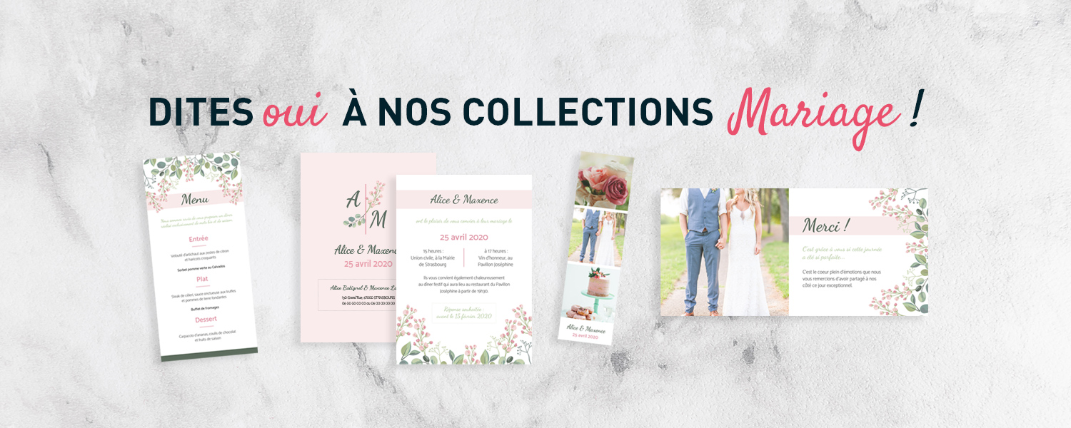 Collections mariage