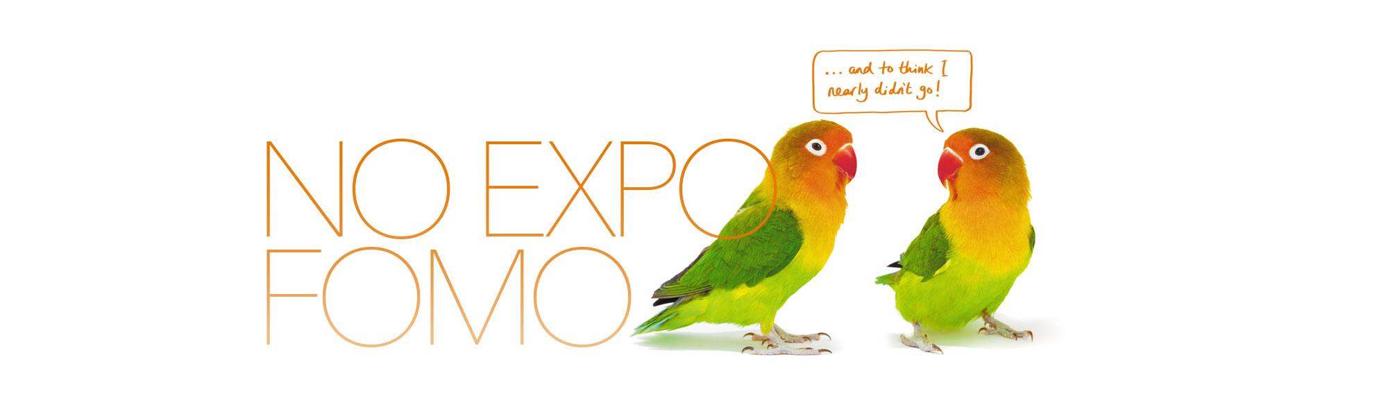 No Expo FOMO