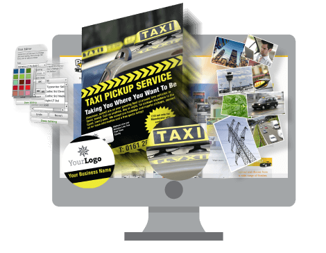 leaflets flyers print4taxis