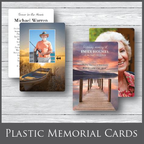 Funeral Memorial Cards