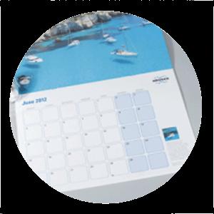 calendrier - télécharger les gabarits 2020