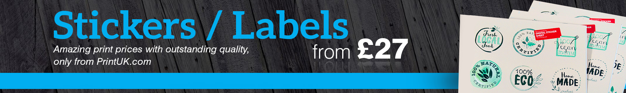 Sticker and Label Printing