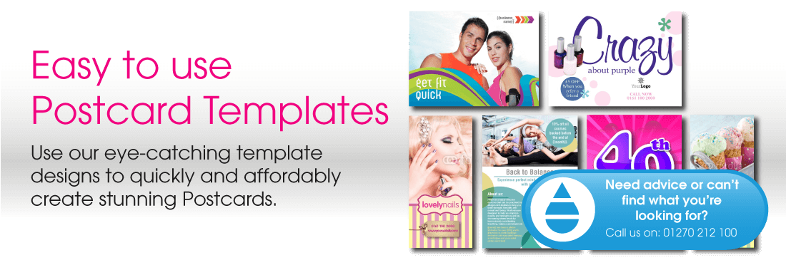 postcard design templates