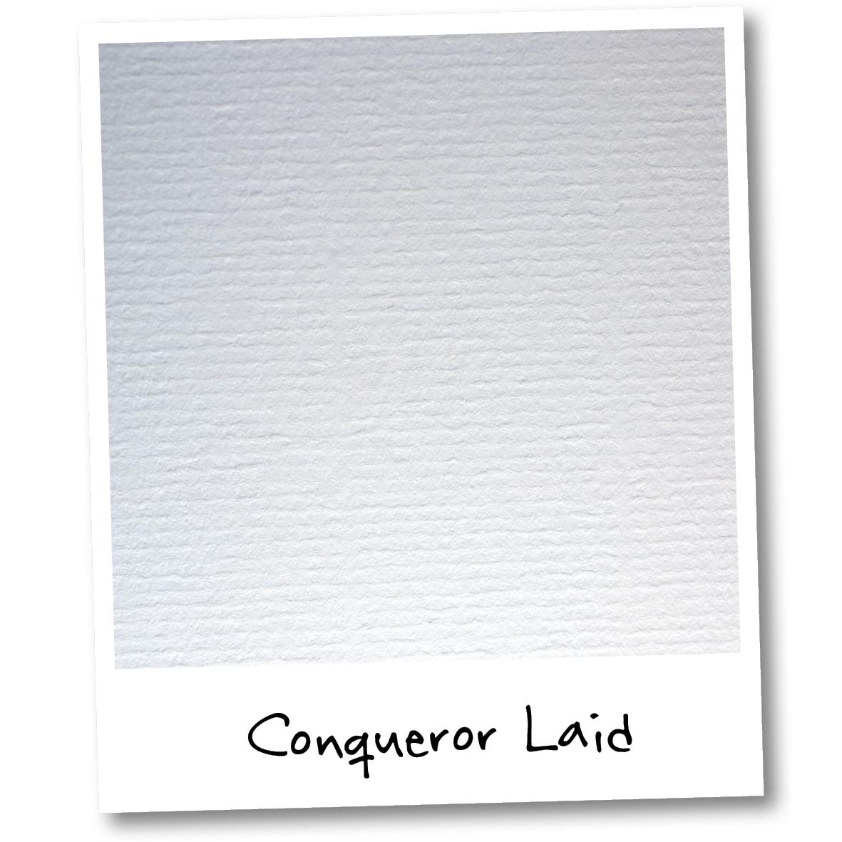 Conqueror Laid Paper