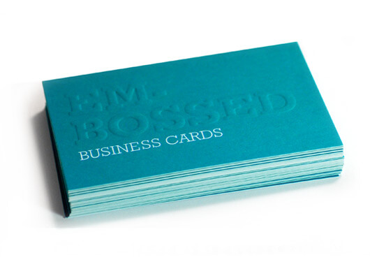 Custom Embossed Business Cards Fast High Quality Printing | www ...