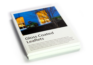 Gloss coated flat leaflets