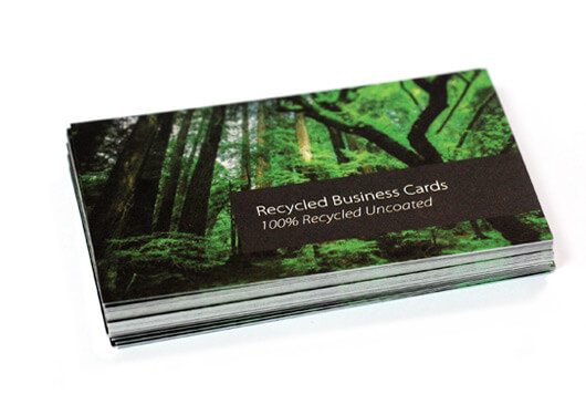 Recycled business cards fast high quality printing www recycled business cards colourmoves Images
