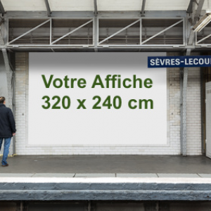 Affiche 320 x 240 cm