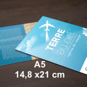 flyers 14,8x21cm - A5