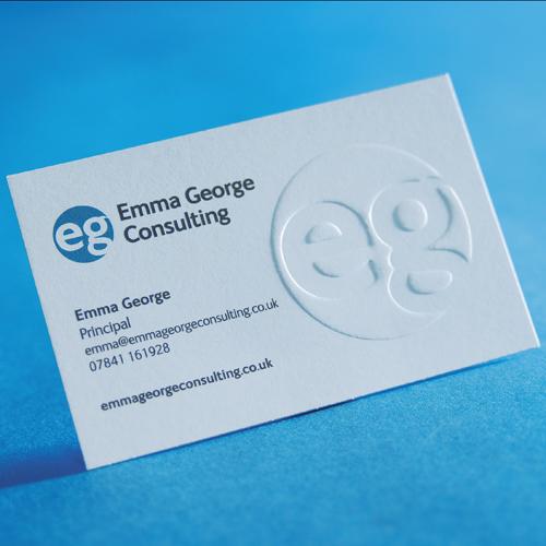 Embossini Embossed Business Cards | printing.com