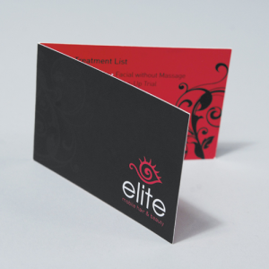 Luxury Bio Folding Business Cards