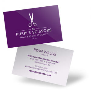 Luxury Bio Business Cards