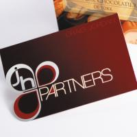 300gsm Folding and Shaped Foil Business Cards