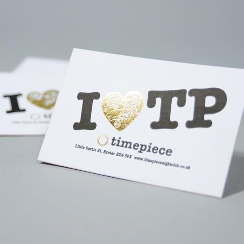 Oaf Foil Business Cards Printing