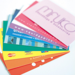 Print or edit business cards online flyerzone business card silk reheart Choice Image