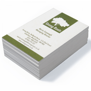 Online print prices from local print studios printing uk product detail regular business cards reheart Choice Image
