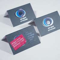 StarMarque Bio Spot UV Folding Business Cards