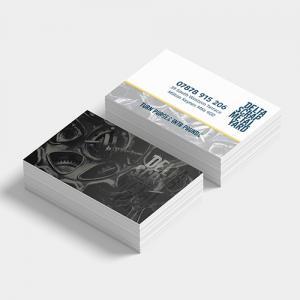 StarMarque Bio Spot UV Business Cards