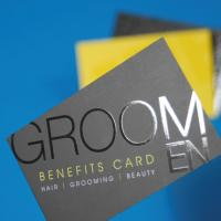 StarMarque Spot UV Business Cards