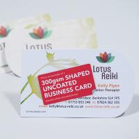 350gsm Uncoated Business Cards