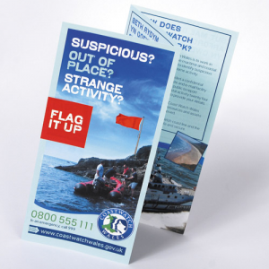 Premium Gloss Folded Leaflets