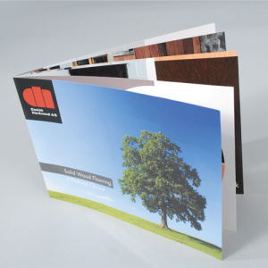 A4 Landscape Booklets : 160gsm Uncoated