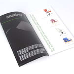 1/3rd A4 Portrait Booklets : 130gsm Gloss