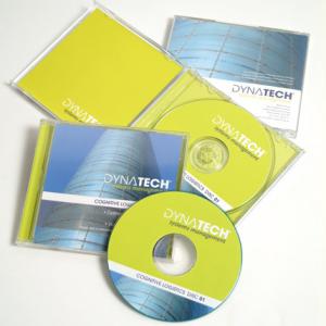 Jaquette pour boitier CD simple