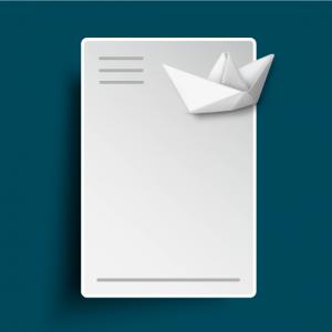Briefpapier - Offset