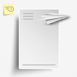 Briefpapier - Print