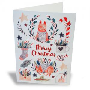 Edit&Go Fast&Festive Christmas Cards