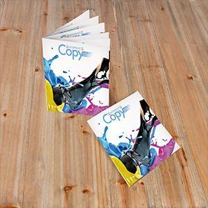 Brochure A4  2 points métal