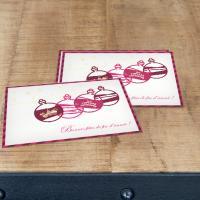 Carte de vœux Classique