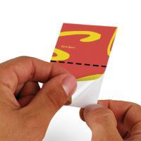 Carte adhésive