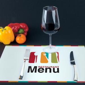Set de table publicitaire