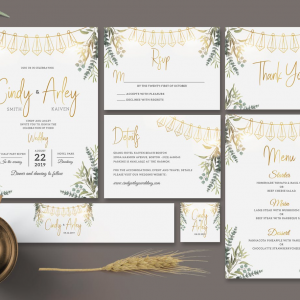 350gsm Wedding Invitations
